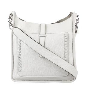 Rebecca Minkoff crossbody leather feed bag